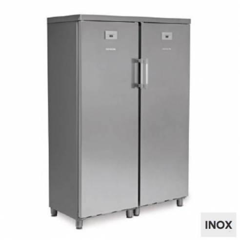 Armario de refrigeración combinado inox KITCF 350 PROSS TN/TN-Z0150ITI0155