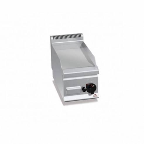 Plancha fry-top BERTOS 300 acero rectificado a gas - placa acanalada-Z005G6FR3B