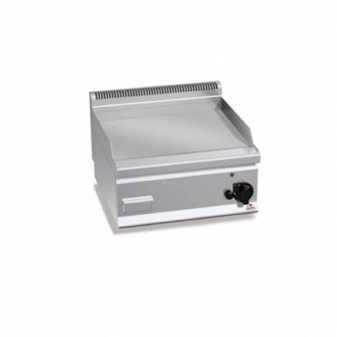 Plancha fry-top BERTOS 600 acero rectificado a gas - placa lisa-Z005G6FL6B