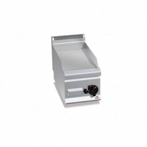 Plancha fry-top BERTOS 300 Cromo duro a gas - placa lisa-Z005G6FL3B/CR