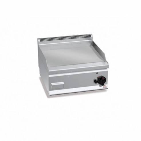 Plancha fry-top BERTOS 600 cromo duro eléctrica - placa lisa-Z005E6FL6BP-2/CR