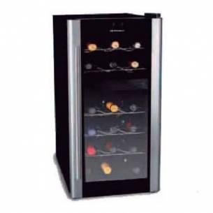 Vitrina expositora vinos 18 botellas y 2 temperaturas VT-180