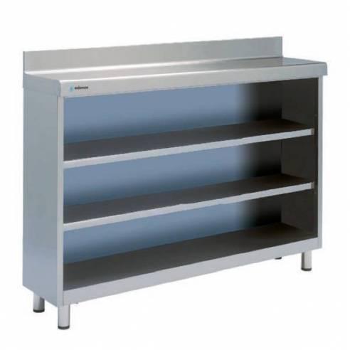 Mueble Frente Mostrador 2 Estantes 1000 X 350 X 1050 mm.-Z001F3010122