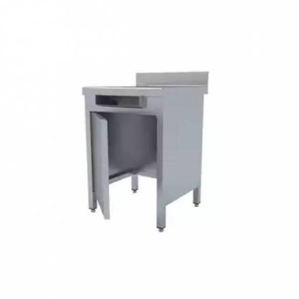 Mesa mural con puerta sin base para desperdicios MMP-66-D (600x600x850)-Z0091832320
