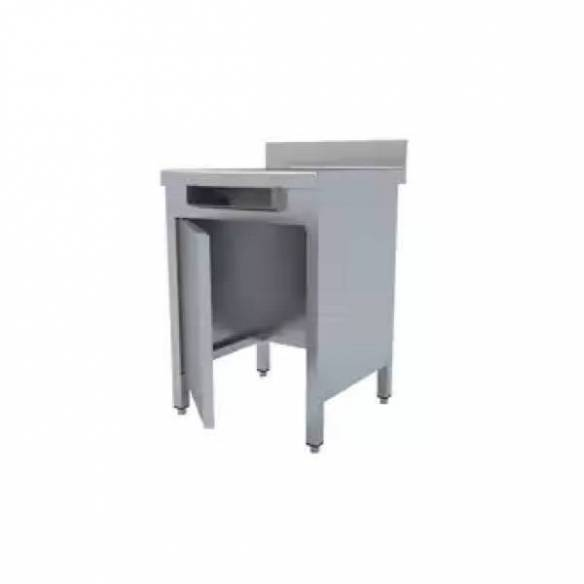Mesa mural con puerta sin base para desperdicios MMP-67-D (600x600x850)-Z00918322321
