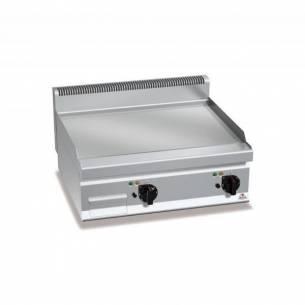 Plancha fry-top BERTOS 800 acero rectificado eléctrica - placa lisa-Z005E7FL8BP-2