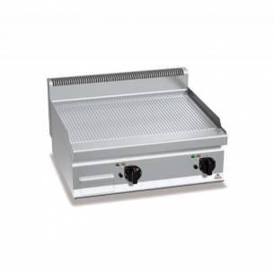 Plancha fry-top BERTOS 800 acero rectificado eléctrica - placa acanalada-Z005E7FR8BP-2