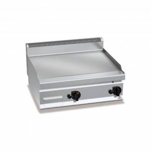 Plancha fry-top BERTOS 800 cromo duro a gas - placa lisa-Z005G7FL8B-2/CR