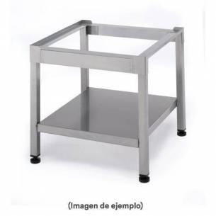 Mesa soporte lavavasos 500 x 500 Silanos-Z005 SOPORTE MAQUINAS 50X50