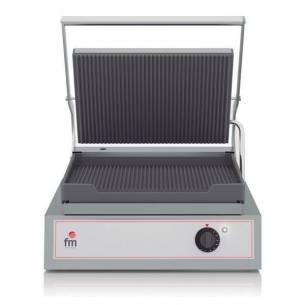 Grill-Sandwichera eléctrico acanalado GR-1 FM
