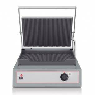 Grill-Sandwichera eléctrico acanalado GR-3 FM