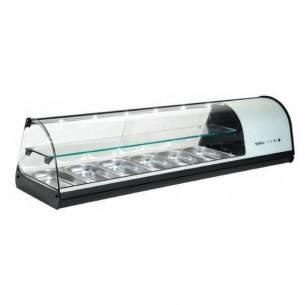 Vitrina refrigerada sobremostrador 4 GN Dos Pisos V24 Sayl-Z027V24