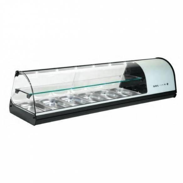 Vitrina refrigerada sobremostrador 6 GN Dos Pisos V26 Sayl-Z027V26