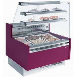 Vitrina expositora refrigerada pastelería VGL 9 P Infrico-Z017-VGL9R