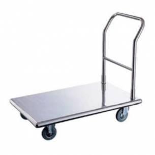 Carro plataforma fijo acero inox CP-9055/F Irimar
