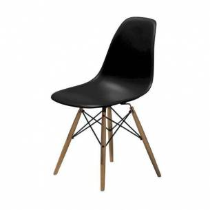 Silla de diseño Eiffel para hostelería (color negro)-Z052SILLAEIFFELNEGRA
