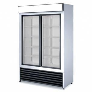 Armario expositor refrigerado 2 puertas cristal RVCS-1000-Z070RVCS1000