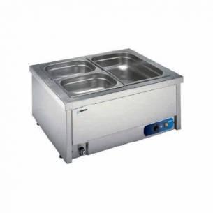 Baño maría sobremesa eléctrico con agua 1 x GN1/1 BMSM-111 Edenox