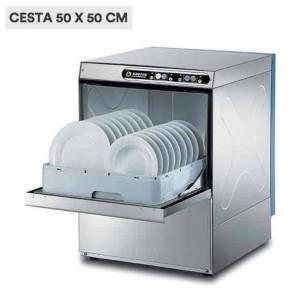 Lavavajillas industrial 50 x 50 Krupps C537T de acero inoxidable (más potente)