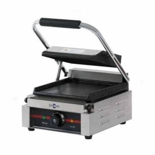 Plancha grill eléctrica Irimar GR-340 con tapa (sandwichera)