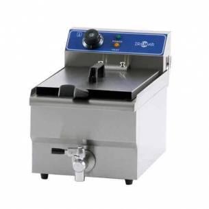 Freidora Iindustrial Eléctrica sobremesa Irimar FRY-13 cuba fija con grifo-Z0137631120