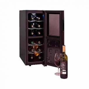 Vinoteca-conservador de vino Cavanova CV012-2T 12 botellas - 2 temperaturas