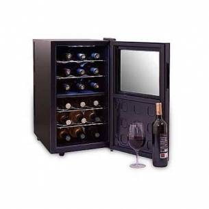 Vinoteca-enfriador de vino Cavanova CV018-2T 18 botellas con 2 temperaturas