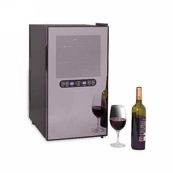 Vinoteca-enfriador de vino Cavanova CV018-2T 18 botellas con 2 temperaturas-Z026CV018-2T