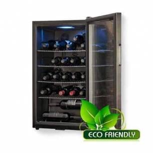Vinoteca-enfriador de vino Cavanova CV028C-NS 28 botellas puerta cristal sobremesa