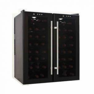 Vinoteca-conservador de vino Cavanova CV048 48 botellas 2 puertas sobremesa