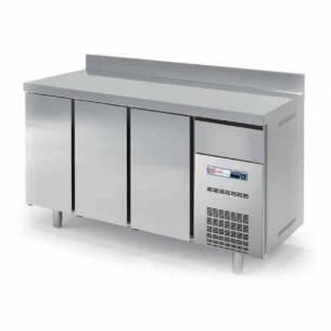 Bajo mostrador refrigerado FMCH-200 Snack 3 puertas acero inox