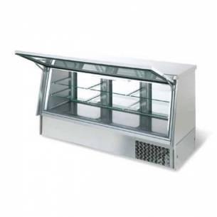Vitrina cerrada refrigerada Infrico VC 2010 puerta cristal abatible-Z017VC2010