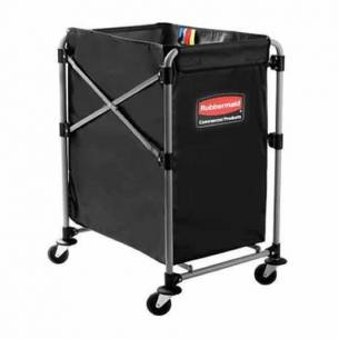 Carro de lavandería plegable Rubbermaid X-Cart 150 litros