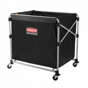 Carro de lavandería plegable Rubbermaid X-Cart 300 litros