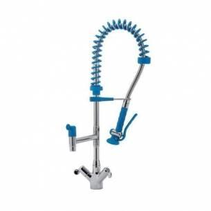 Grifo de ducha altura 600 mm Edenox GD2C-60 E 2 aguas con caño giratorio