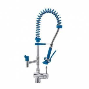 Grifo de ducha monomando altura 600 mm Edenox GDM2C-60 E 2 aguas con caño giratorio