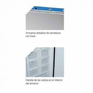 Armario congelador vertical Edenox ANS-651-I