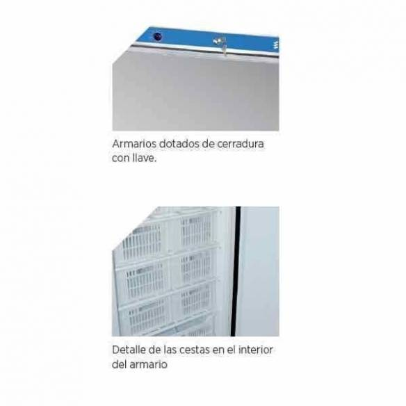 Armario congelador profesional Inox. EDENOX ANS-651-I-Z00919042965
