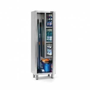 Armario productos limpieza acero inox Distform 1 puerta-Z001F0240201