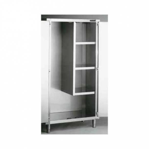 Armario productos limpieza acero inox Distform 2 puertas-Z001F0240202