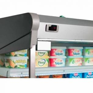 Vitrina mural expositora refrigerada lácteos Infrico EML 18 M2