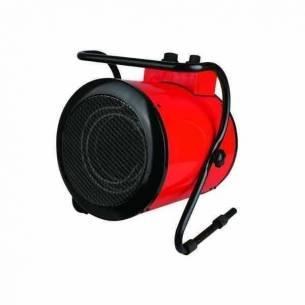 Cañón calefactor eléctrico aire caliente 3000 W con soporte
