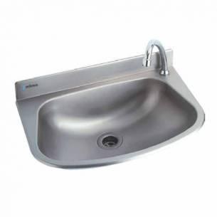 Lavabo acero inoxidable grande Edenox LB-G - Sujeción pared-Z0091426102