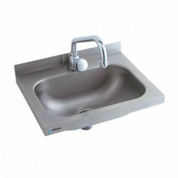 Lavabo acero inoxidable pequeño Edenox LB-43 - Sujeción pared-Z0091426103