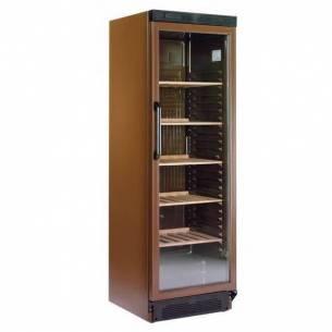 Armario expositor vinos con puerta cristal 374 G/D