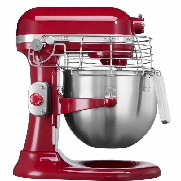 Amasadora Kitchenaid Profesional 6,9L Rojo 5KSM7990XEER