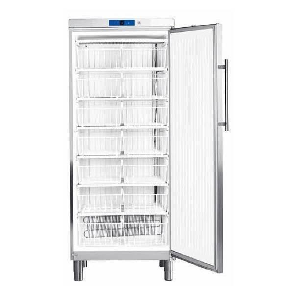 Congelador vertical industrial Liebherr G5260 estático 750x750x1864 mm acabado inox