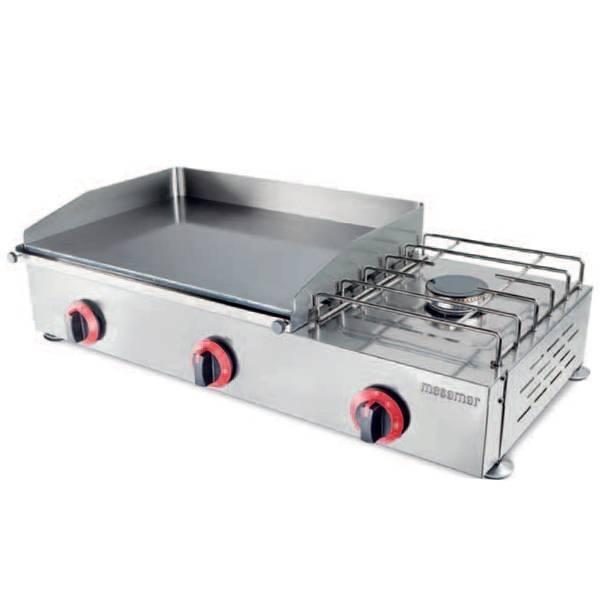 Planchas con fog n planchas cocci n hostelbar - Plancha para cocina a gas ...