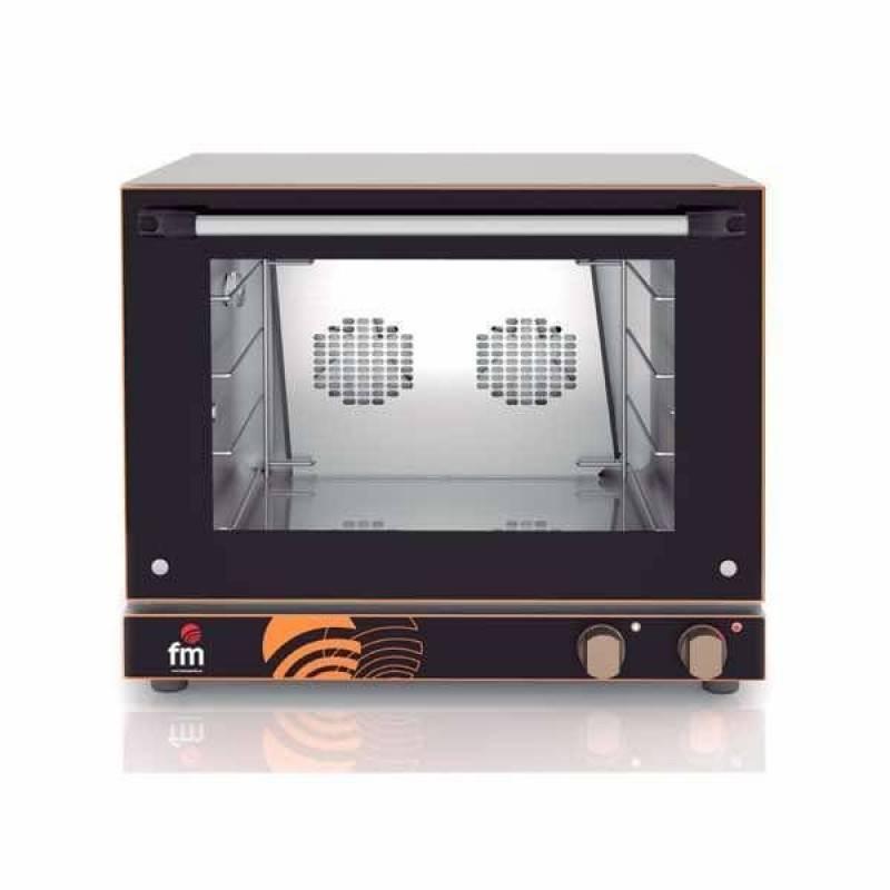 Horno de pan convecci n el ctrico fm rx 424 4 bandejas for Medidas de hornos electricos