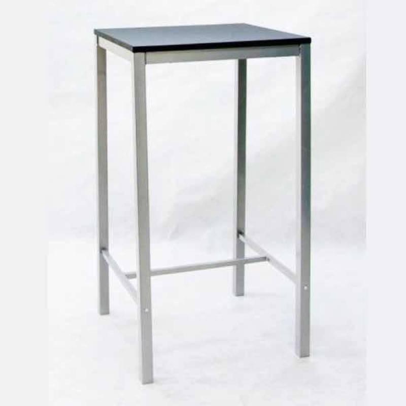 Mesa alta cuadrada milano para bar 60x60 cm hostelbar - Mesas altas para bar ...